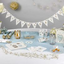 To Have And To Hold Just Married Mini Bunting